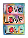 Love Giclee Print by Linda Woods