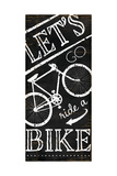 Let's Go Ride a Bike Posters by Jennifer Pugh