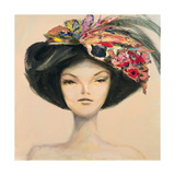 The Sunday Hat Giclee Print by JC Pino