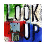 Look Up Print by Linda Woods