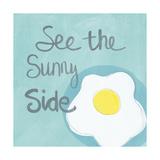 Sunny I Kunstdruck von Linda Woods