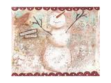 Snowbuddy Giclee Print by Cassandra Cushman