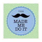 Mustache II Giclée-Druck von Stephanie Marrott