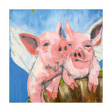 When Pigs Fly Poster von Melissa Lyons