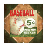 Baseball Card Time Giclee Print by Pied Piper