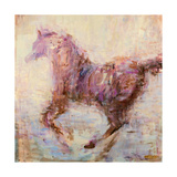 Elegant Run Giclee Print by JC Pino