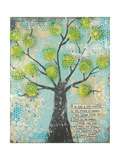 Be Like a Tree Poster por Cassandra Cushman