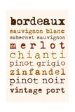 Wines Giclee Print by Anna Quach