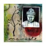 Namaste Giclée-Druck von Linda Woods
