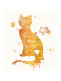 Cat Love Giclee Print by Anna Quach
