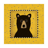 Bear in Frame Prints by Stephanie Marrott