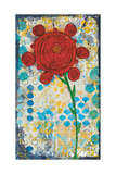 Abstract Floral Posters by Cassandra Cushman