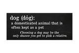 Dog Definition Giclee Print by Anna Quach