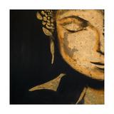 Zen Buddha Print by JC Pino