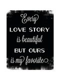 Love Story Prints by Caitie Harris