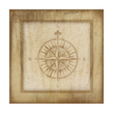 Compass Giclee Print by Jennifer Pugh