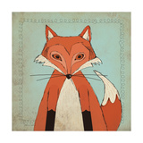 Fox Posters by Stephanie Marrott