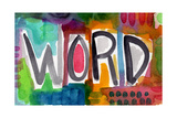 Word Giclee Print by Linda Woods