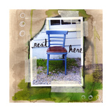 Rest Here Giclee Print by Linda Woods