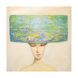 Crazy for Monet Giclee Print by JC Pino