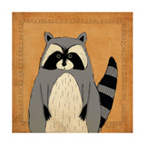 Raccoon Prints by Stephanie Marrott