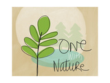 One with Nature Prints by Linda Woods