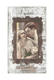 Wedding Couple Giclee Print by Cassandra Cushman