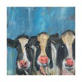 Cow X3 Kunstdrucke von Melissa Lyons