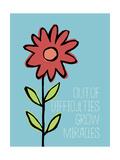 Grow Miracles Lámina giclée por Stephanie Marrott