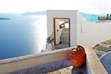 Romantic Holidays - Santorini Resorts Posters by  Maugli-l