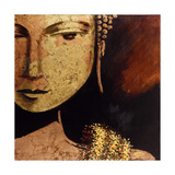 Golden Buddha Giclee Print by JC Pino