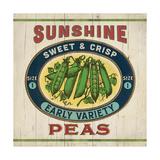 Peas Posters by Stephanie Marrott