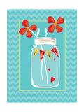 Love Jar Prints by Stephanie Marrott