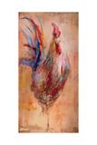 French Rooster Kunstdrucke von JC Pino