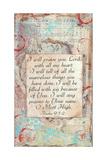 Praise Print by Cassandra Cushman