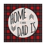 Home Is Where Dad Is Giclee Print by Ashley Hutchins