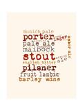 Beer Mug Giclee Print by Anna Quach