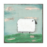 Hope Sheep Prints by Cassandra Cushman