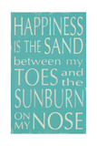 Happiness Is the Sand Posters by Holly Stadler