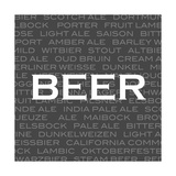 Beer Prints by Anna Quach