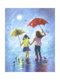 Rain Sisters Prints by Vickie Wade