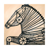 Mechanical Horse II Prints by JC Pino