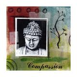 Compassion Giclée-Druck von Linda Woods