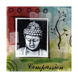 Compassion Giclee Print by Linda Woods
