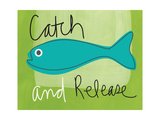 Catch and Release Giclee Print by Linda Woods
