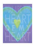 Heart of Heart Lámina giclée por Stephanie Marrott
