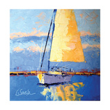 Sail Away Posters by Leslie Saeta