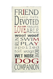 I Love My Dog Posters by Holly Stadler