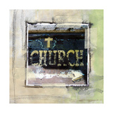 Church Giclee Print by Linda Woods