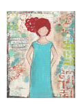 Write it on Your Heart Giclee Print by Cassandra Cushman